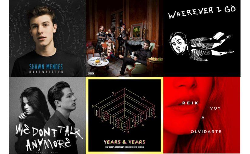 Mi música del 2016: Top100, #UnMesUnaCanción y Coldplay
