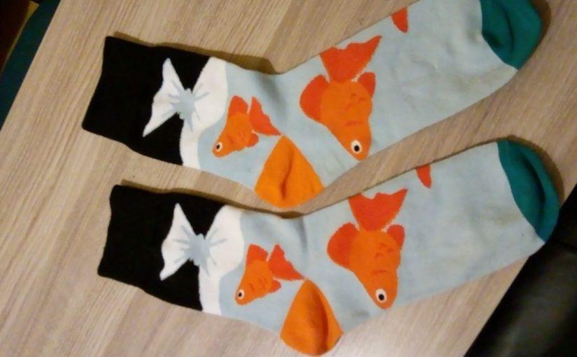 Saliendo conmigo mismo y los calcetines divertidos